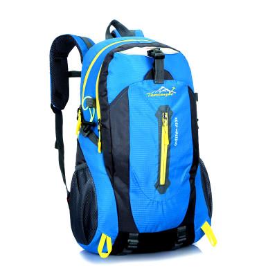 新款大容量戶外背包登山包雙肩包男女防水休閑旅行包中學生書包45L 防潑水面料 男女通用包電腦包---301