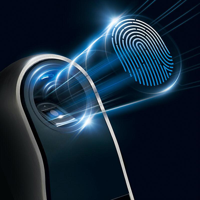 海尔指纹锁 家用防盗门锁 密码锁 智能锁 电子锁 hl-33pf3
