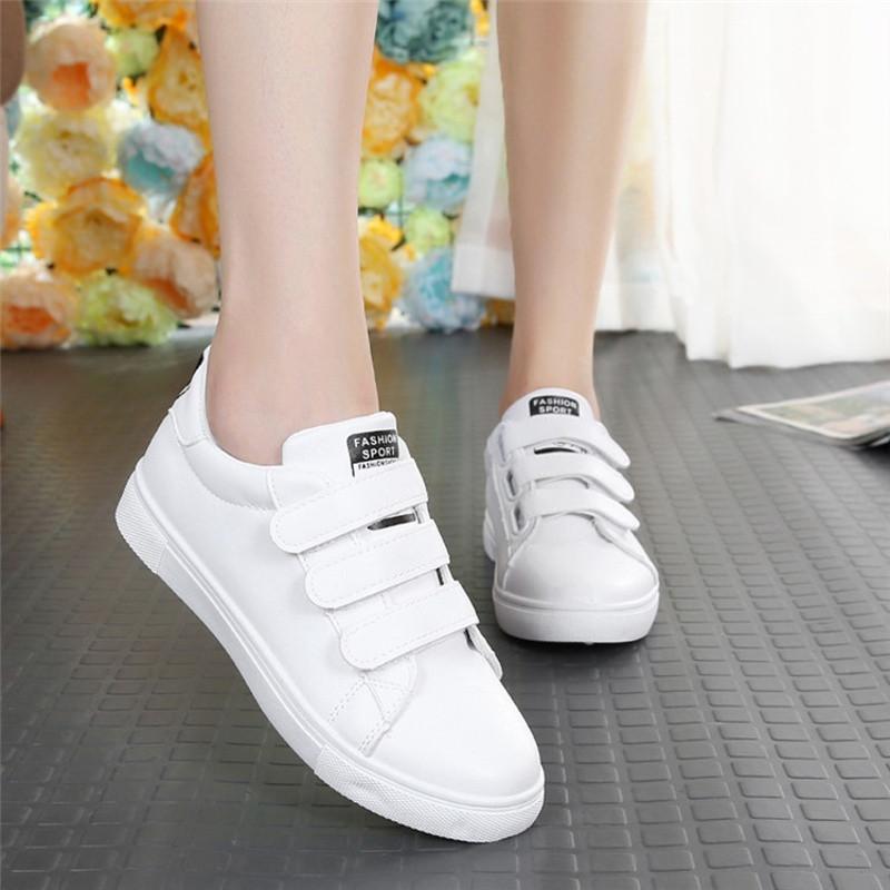 低帮运动鞋休闲平底百搭大童女鞋可爱少女白色板鞋初中学生单鞋子sn