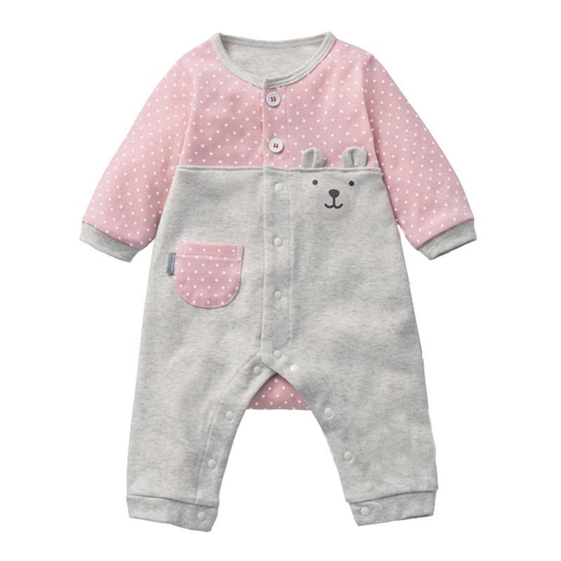 迪日可爱宝宝婴幼儿服装童装春秋夏款宝宝爬服卡通棉连体衣lhbb1788