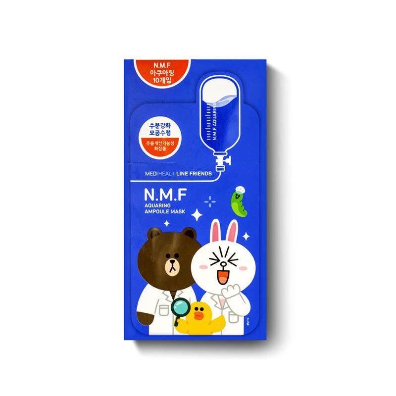 美迪惠尔 可莱丝nmf卡通动物面膜 蓝色补水保湿(香港直邮)