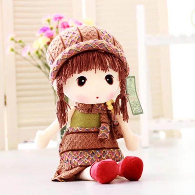 毛绒玩具可爱公主菲儿小女孩睡觉抱枕创意布娃娃玩偶公仔圣诞礼物