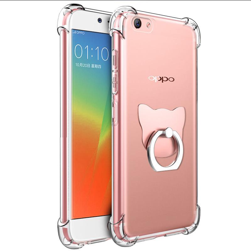 【包邮】oppor11plus手机壳r11防摔壳0pp0r11手机壳透明保护套四角防