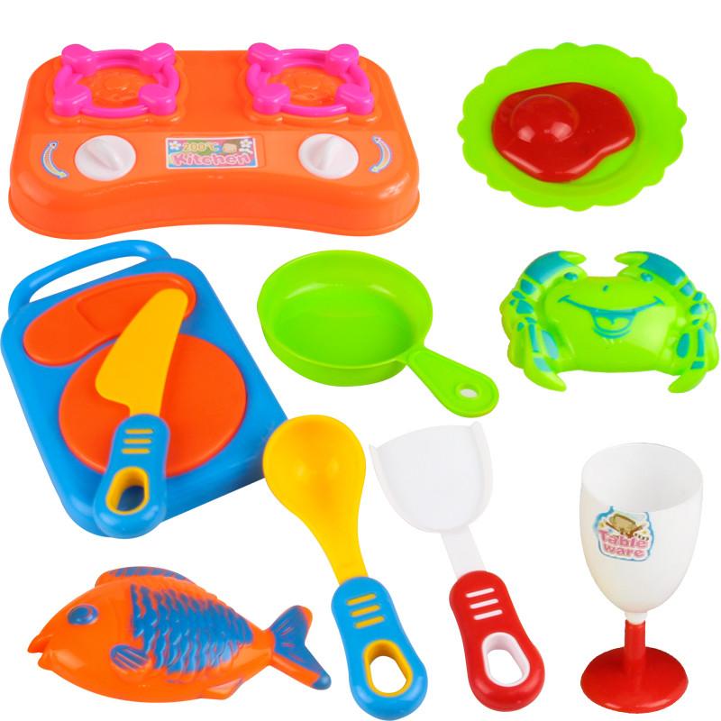 北国e家 切切乐儿童过家家玩具女孩厨房玩具diy 0-3-7