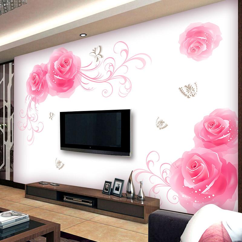 客厅卧室装饰墙贴画 电视背景墙贴画贴纸 墙壁墙面装饰可移除贴花
