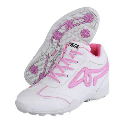 內增高女鞋 高爾夫女鞋 高爾夫運動鞋子 透氣防水女高幫鞋 高爾夫女士休閑鞋 高爾夫球鞋