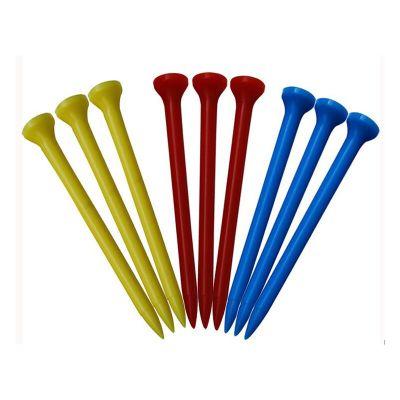 高爾夫球TEE 高爾夫塑料Tee 高爾夫球釘 高爾夫夫球座球托 高爾夫木TEE 3個裝