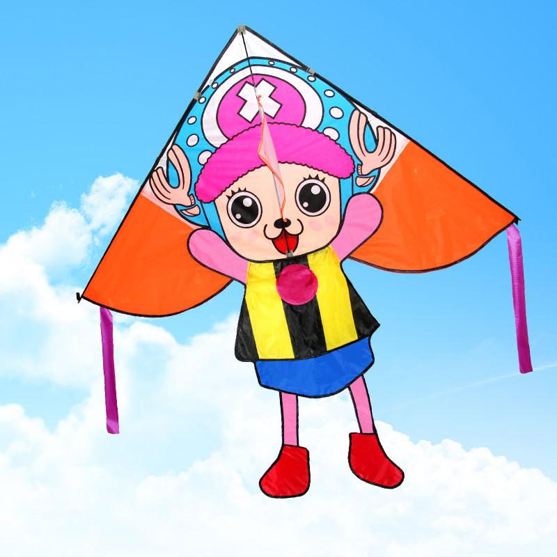 风筝 海贼王 乔巴风筝 儿童风筝 卡通三角风筝