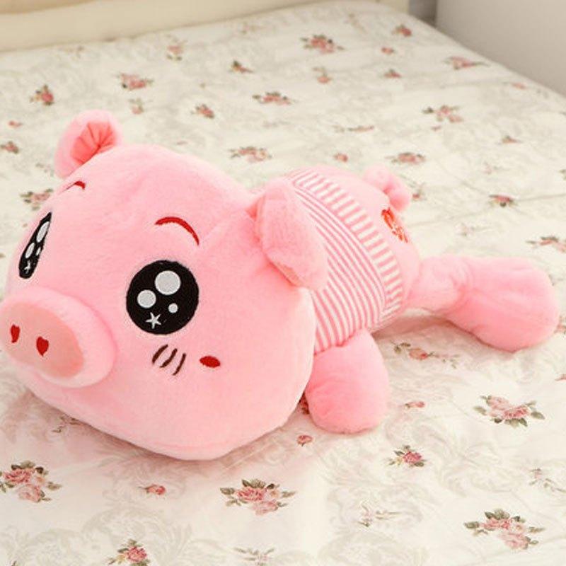 男女宝宝玩偶公仔可爱猪小孩子公仔毛绒玩具猪布娃娃大号睡觉抱枕猪猪