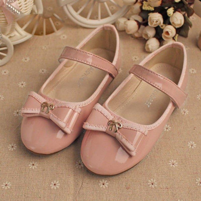 单鞋学生甜美蝴蝶结女童公主鞋百搭小女孩子鞋子夏天女宝宝可爱单鞋