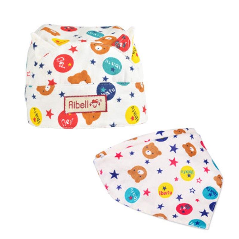 适用于0-2岁婴童可爱卡通宝宝帽子儿童海盗帽女春秋3