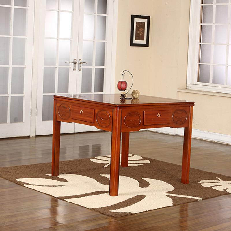 爵仕麻将机 全自动静音餐桌两用电动麻将桌 家用欧式四口麻将机家用