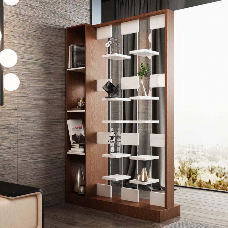 简约现代创意屏风隔断时尚客厅镂空玄关柜双面门厅柜置物架间厅柜