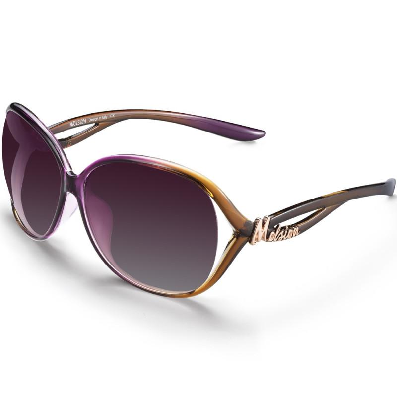 陌森太阳镜女偏光潮太阳镜女时尚优雅眼镜明星款墨镜ms1091图片