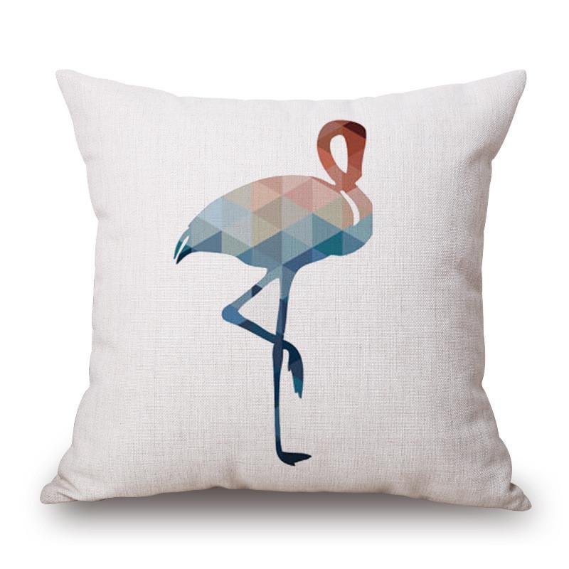 巨头简约创意几何动物抱枕沙发汽车靠枕含枕芯