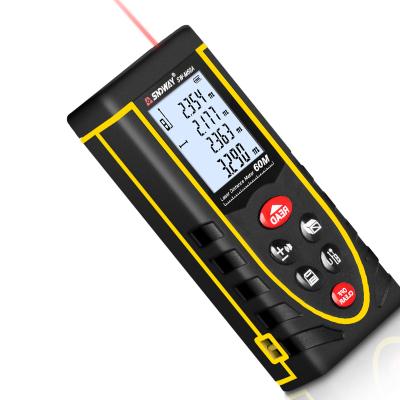 深達威手持式激光測距儀鋰電語音款高精度紅外線測量儀量房電子尺語音充電款100米SW-M100A