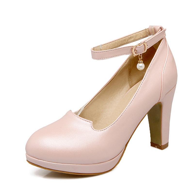 中大童小女孩高跟鞋韩版单鞋公主鞋舞蹈表演跳舞鞋绑带女童鞋皮鞋