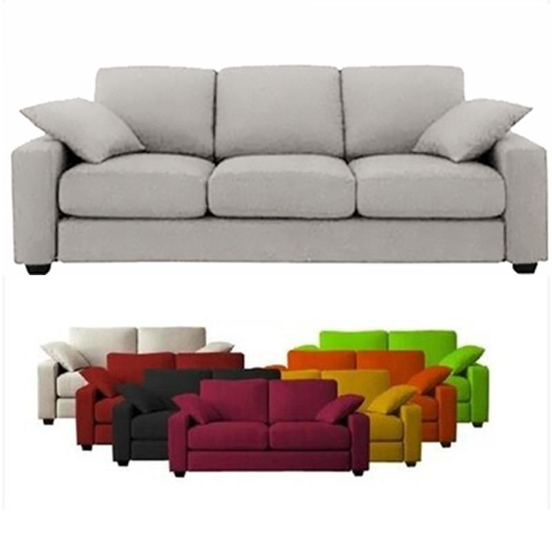 双人三人沙发简约现代客厅家具组合便宜卡座咖啡厅小户型布艺沙发2904