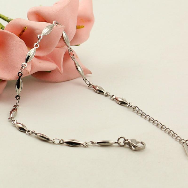 彩丽馆欧美极简饰品复古几何方条情侣闺蜜手链手环设计女韩版生日礼物