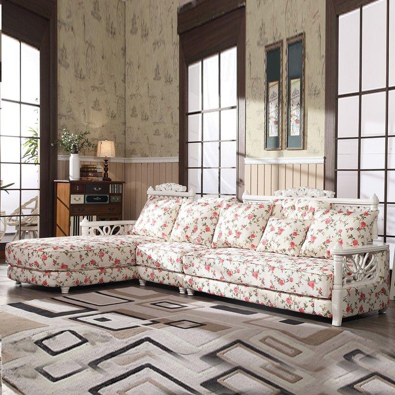 豪梦菲林 沙发 布艺沙发 欧式沙发 实木沙发 贵妃沙发图片