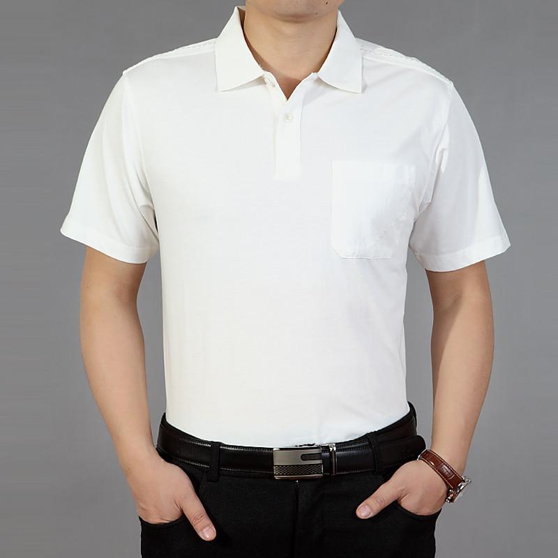 口袋t恤男