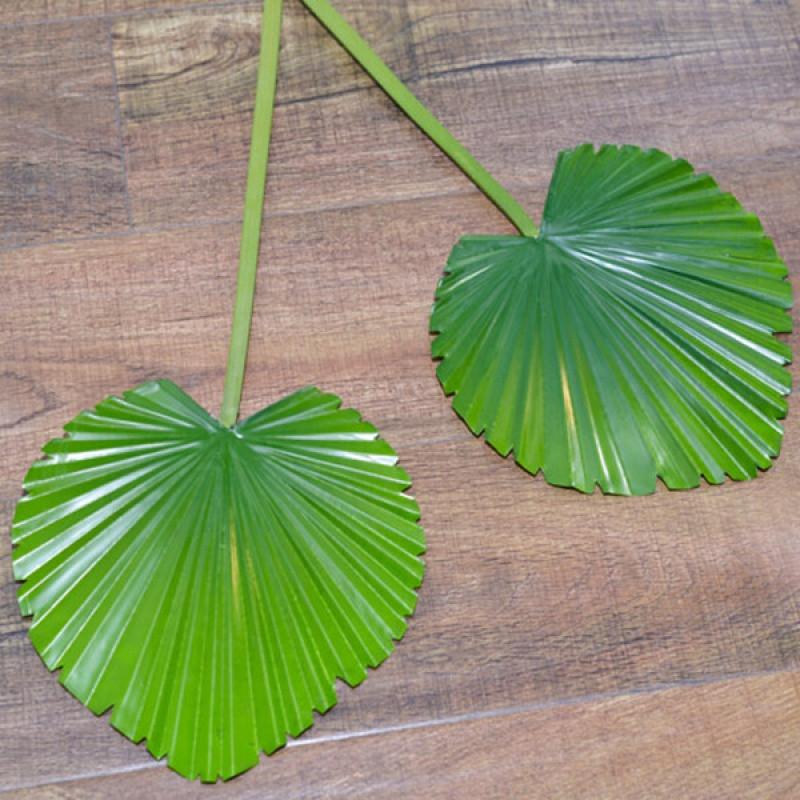 【 】仿真粽叶 扇尾叶 棕榈叶 椰子树叶 仿真芭蕉扇叶