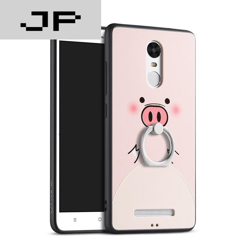 jp潮流品牌 红米note3手机壳女款硅胶套磨砂硬壳小米韩国挂绳卡通可爱