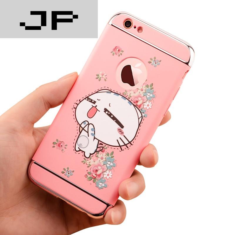 品牌iphone6手机壳6s苹果6plus手机套创意卡通防摔女款新韩国可爱5.