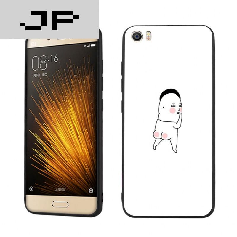 jp潮流品牌 恶搞搞笑暴漫小米5手机壳创意个性小米5s plus可爱另类