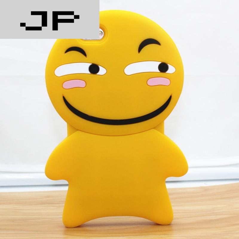 jp潮流品牌苹果6新款日韩姜饼人饼干笑脸iphone6plus7