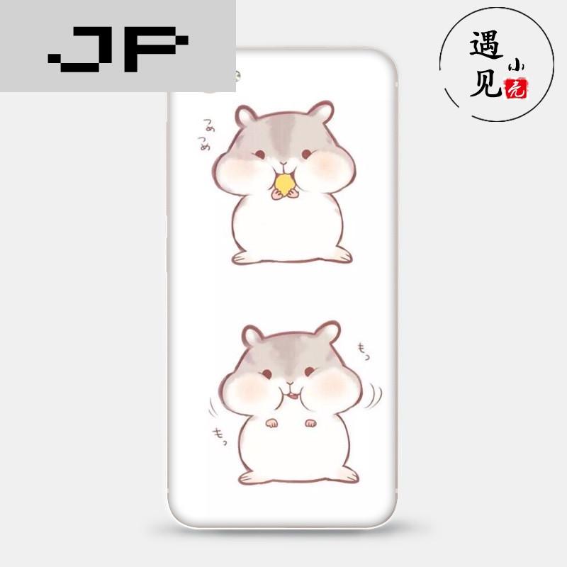 jp潮流品牌步步高 x7/x9/plus手机软壳保护套萌萌哒小仓鼠情侣款小牛5