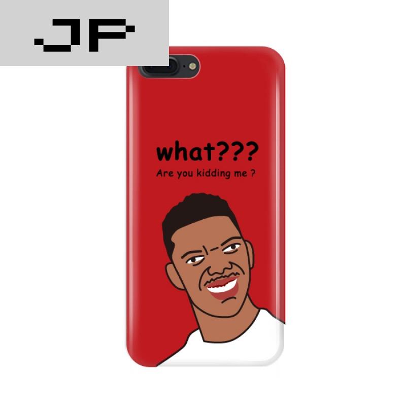 jp潮流品牌原创意恶搞趣味可爱黑人问号苹果7plus手机