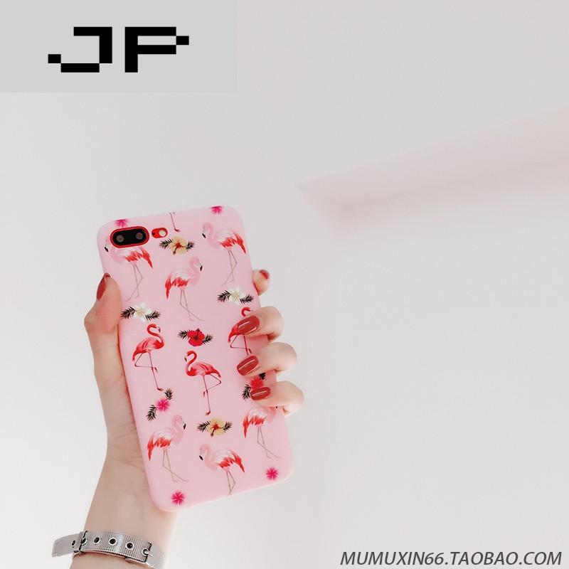 jp潮流品牌【x7手机壳】可爱磨砂韩风ins火烈鸟vivo步步高x9/plus卡通