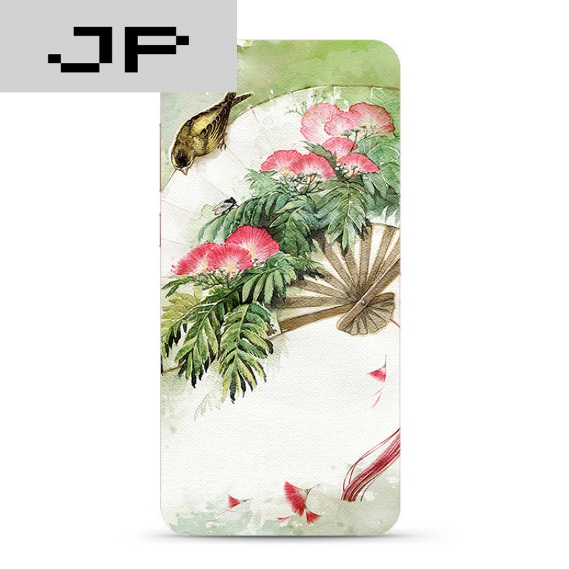 jp潮流品牌唯美中国风手绘风景步步高vivoxplay6 5 y66 67手机壳软壳