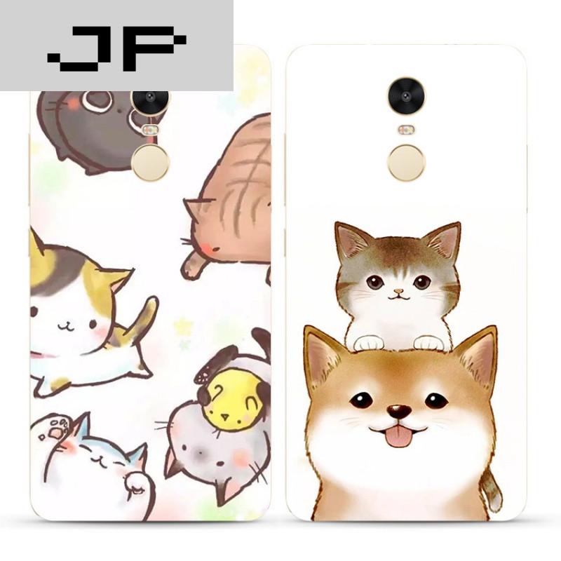 jp潮流品牌可爱卡通萌宠红米3s note4x 3 4a pro手机壳单身汪狗狗软壳