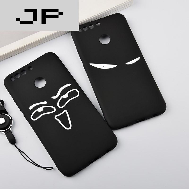 jp潮流品牌华为荣耀v9手机壳女款防摔可爱创意硅胶v9保护套软全包边潮