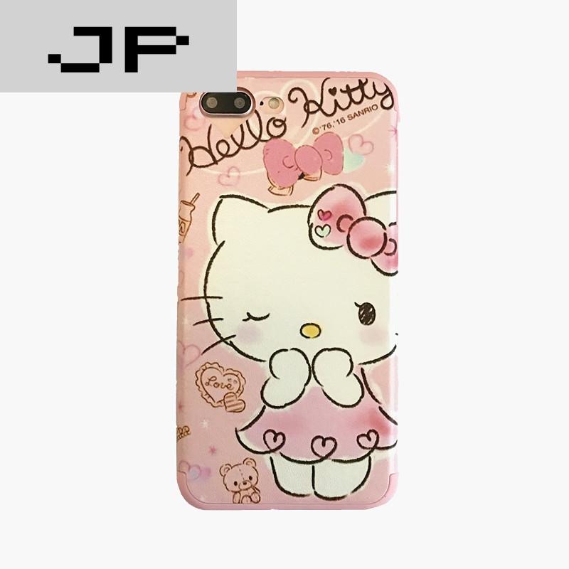 jp潮流品牌可爱iphone6s手机壳流苏吊坠苹果6plus外壳