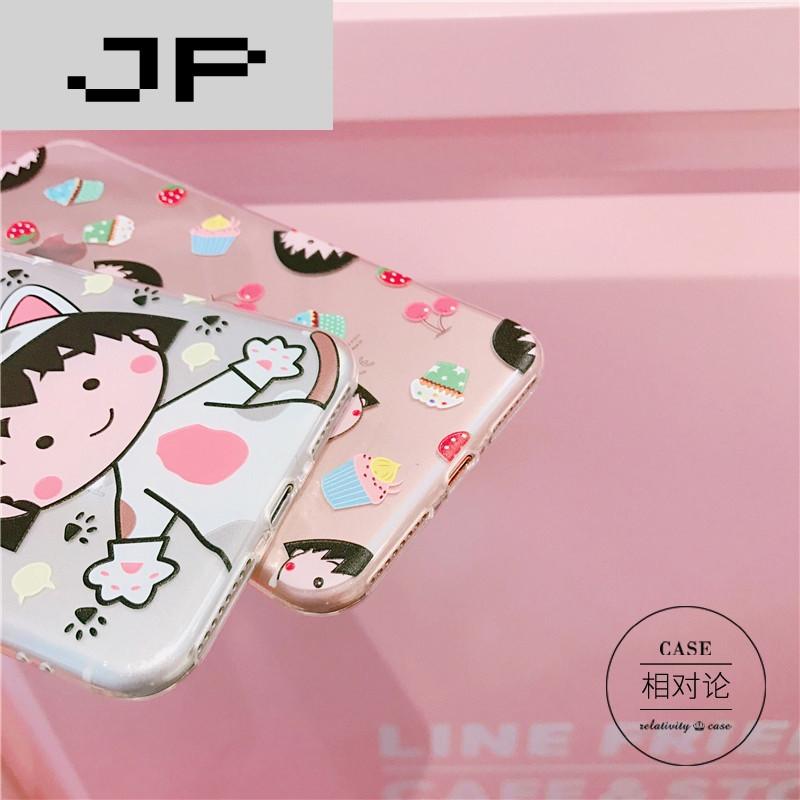 jp潮流品牌日本卡通可爱丸子手机壳iphone7plus/6s/7苹果6创意硅胶