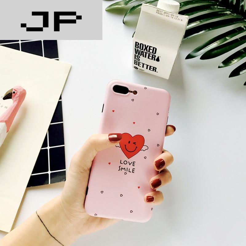 jp潮流品牌iphone7手机壳可爱卡通苹果7plus星星笑脸6splus硅胶软壳情