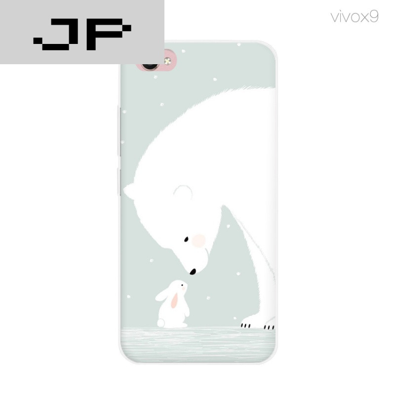 jp潮流品牌新款卡通可爱兔子 x9手机壳步步高x7 x9plus硅胶防摔软壳
