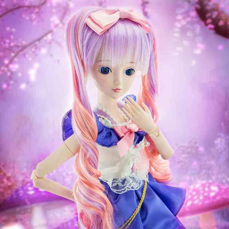 现货叶罗丽娃娃公主系列萌偶像60cm夜萝莉可化妆关节可动正品包邮