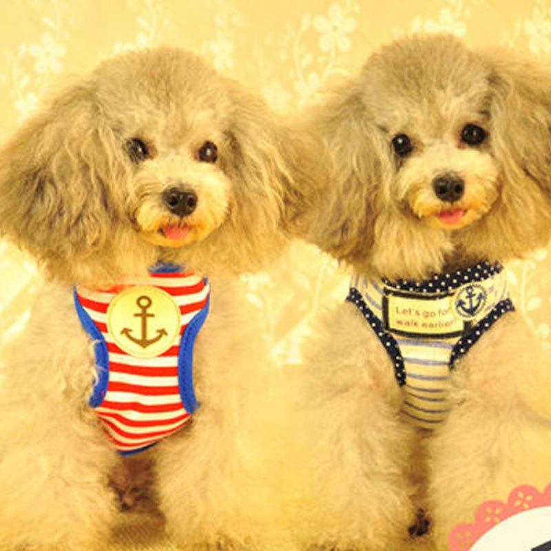 可爱宠物狗狗链狗绳子背心式狗狗牵引绳猫大中小型犬胸背带金毛泰迪狗