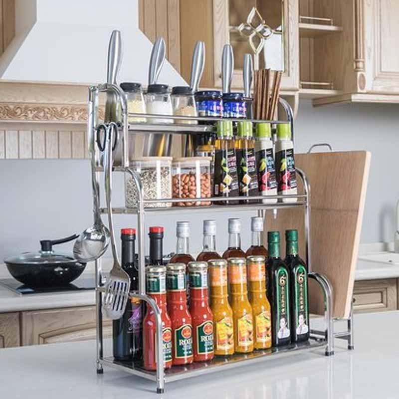 刀架壁挂落地用品简约时尚家居家用生活日用多功能厨房收纳用品置物架图片