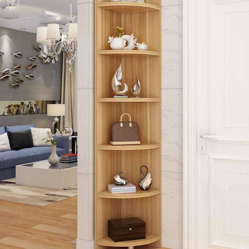简约现代转角柜客厅墙角柜三角置物架 酒柜 角柜储物收纳柜简约时尚