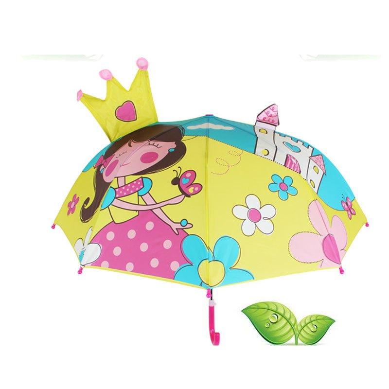儿童雨伞幼儿园创意可爱卡通伞公主伞男女宝宝伞安全小孩小童伞儿童卡