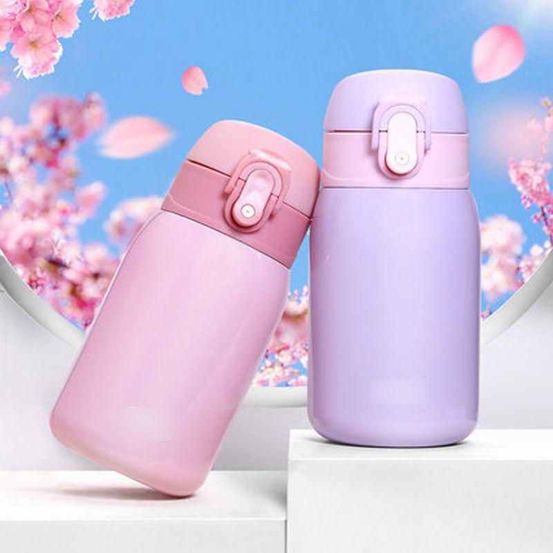 迷你小巧不锈钢保温杯便携清新可爱儿童水杯子学生女防摔韩版文艺多色