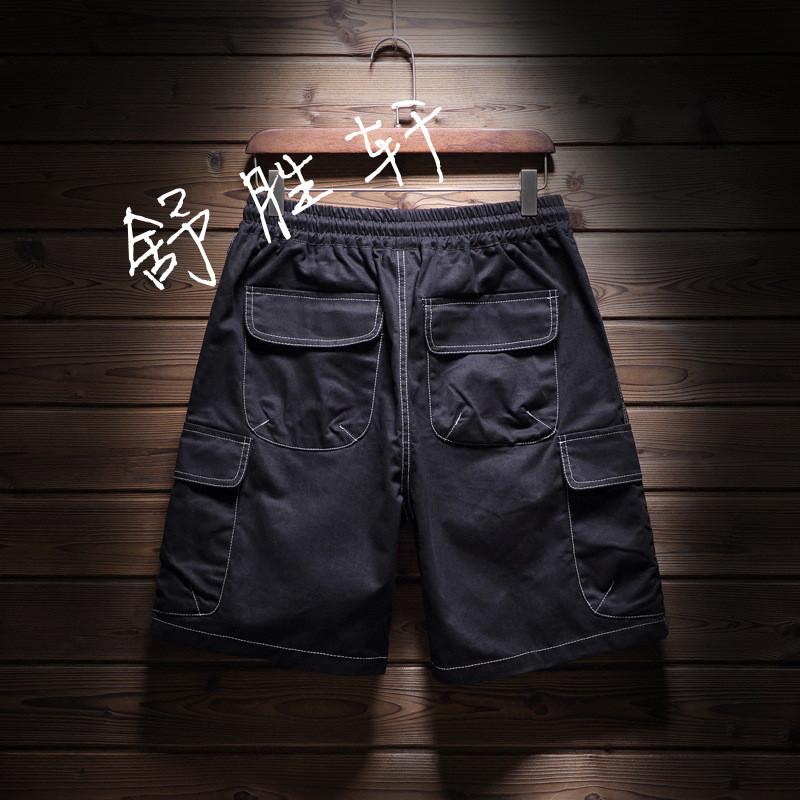 加肥加大码工装短裤
