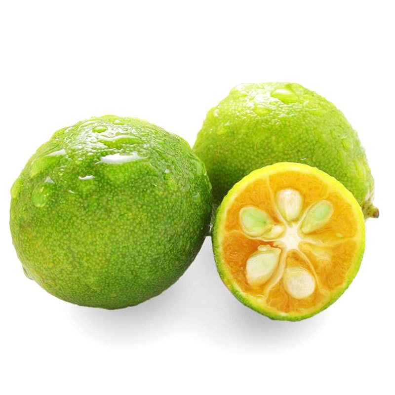 恩多果 海南特产热带水果青金桔 4斤 新鲜水果图片