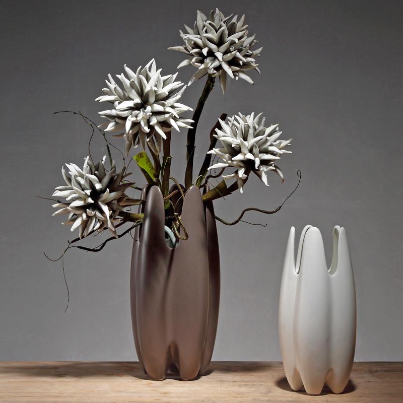 花瓶北欧风格家装饰品客厅博古架摆件餐桌陶瓷工艺品艺术简约现代