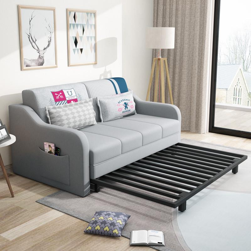 百爱优正 两用沙发床 多功能可折叠 现代简约小户型客厅1.图片